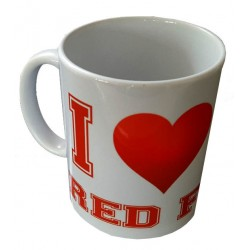 Mug I love Red Foxes