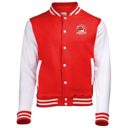Veste college bicolore enfant