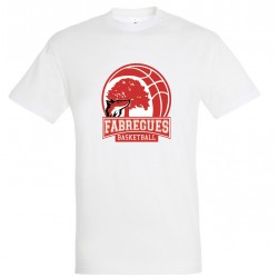 T-shirt coton homme Grand logo